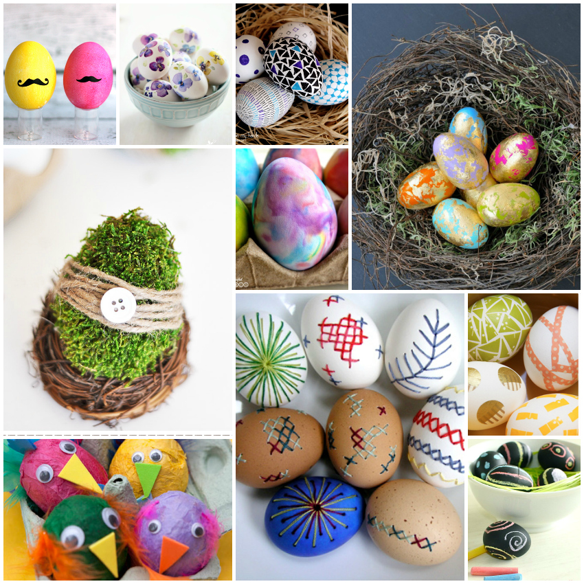 creative ways to decorate easter eggs, easter egg decorations, how to dye easter eggs
