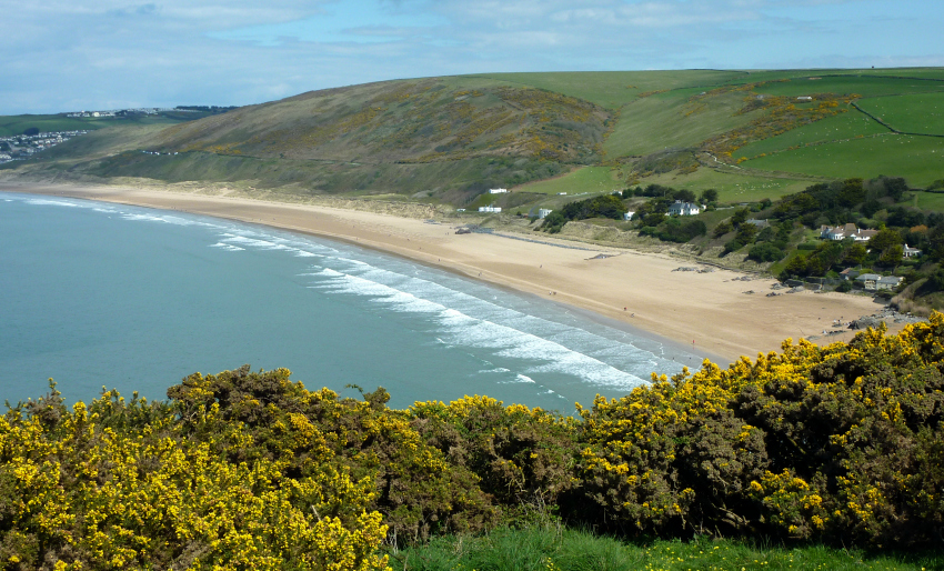 woolacombe-beach, best beaches in the south west, devon