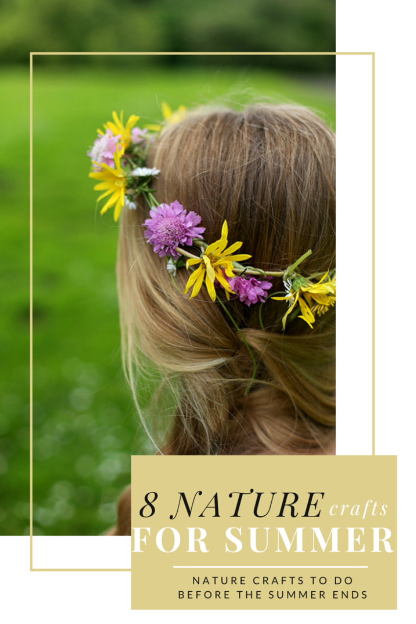 8 nature crafts for summer, nature crafts, thrifty nature crafts
