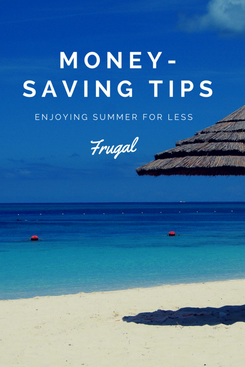 money-saving tips for the summer holidays, keep your kids entertained during the summer holidays without breaking the bank