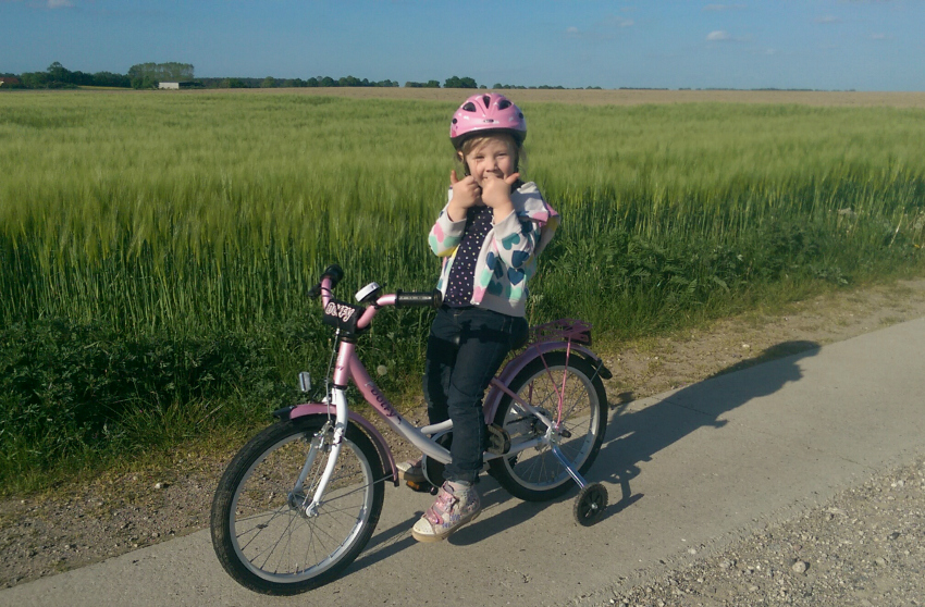 summer activities for families: riding your bike together