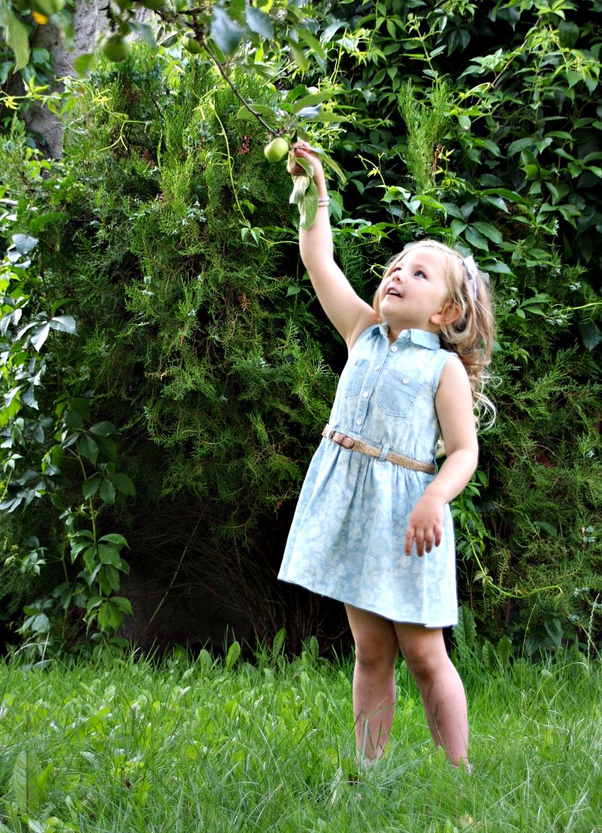 beautiful summer dress for little girls, what Amy wore, kids fashion for summer