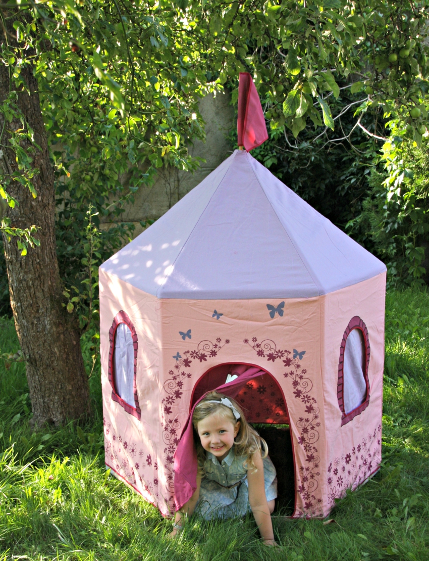 big game people princess castle tent, garden tent for children, princess tent, play tent
