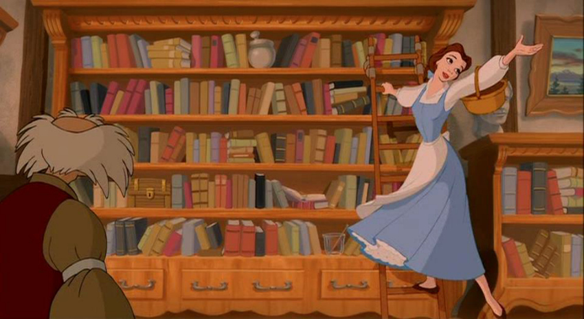 belle's song - beauty and the beast - disney tag