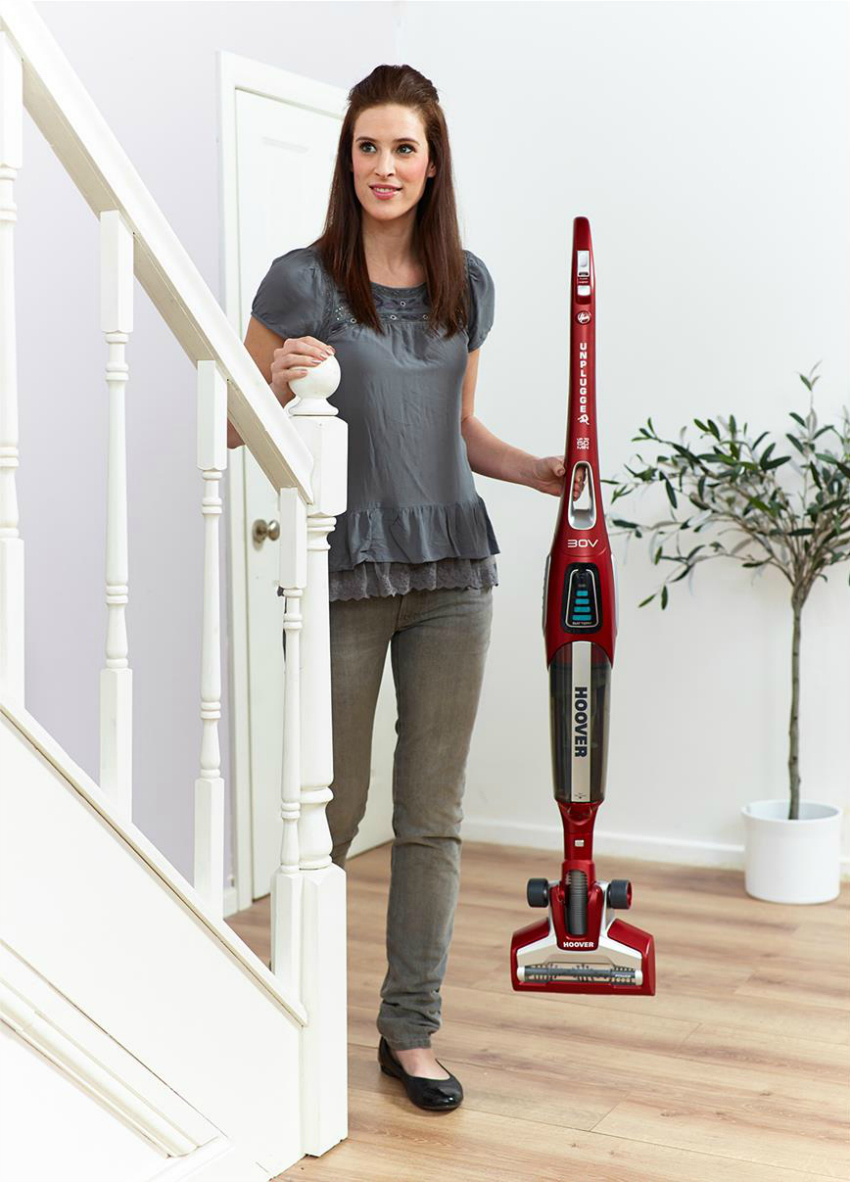 cordless hoover, cordless vacuum, hoover unplugged v30