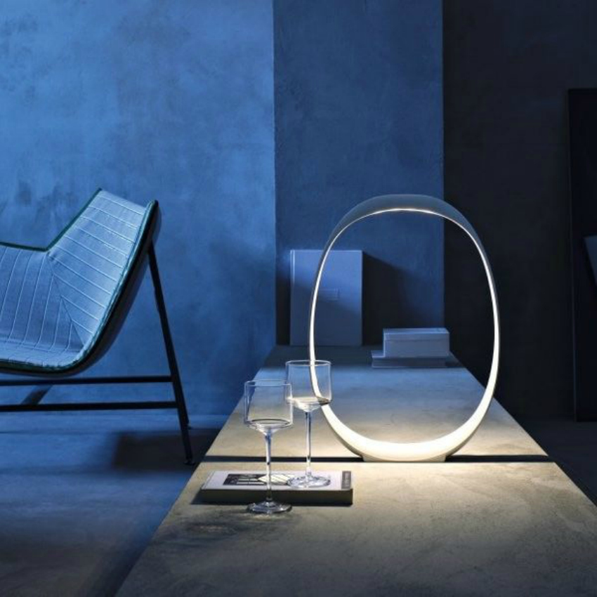 anisha-foscarini table lamp, futuristic lighting for your living room