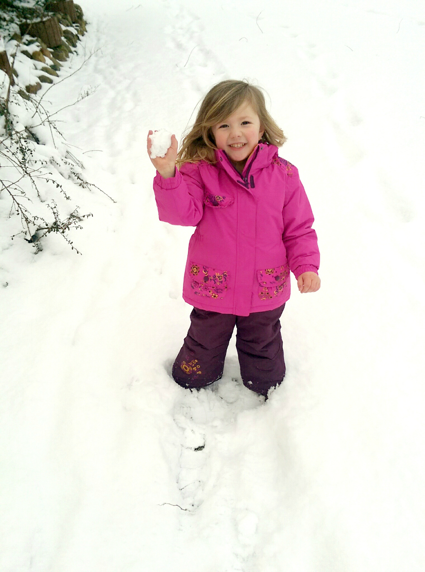 fun things to do with kids in winter - have a snowball fight