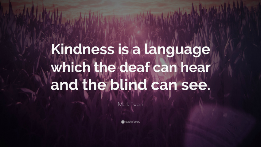 kindness and mindfulness