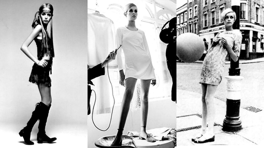 iconic fashion items mini skirt, twiggy, history of the miniskirt