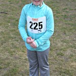 Amy's first 800m race