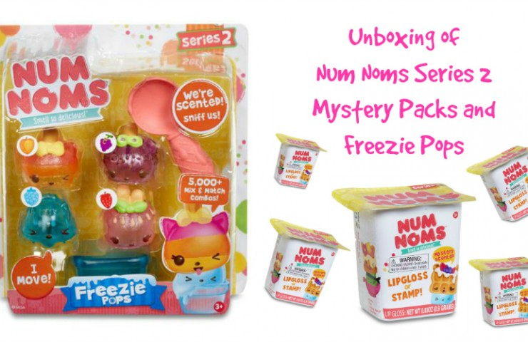 Unpacking Num Noms Series 2