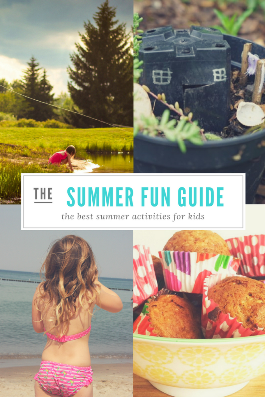 summer activities for kids and all the family