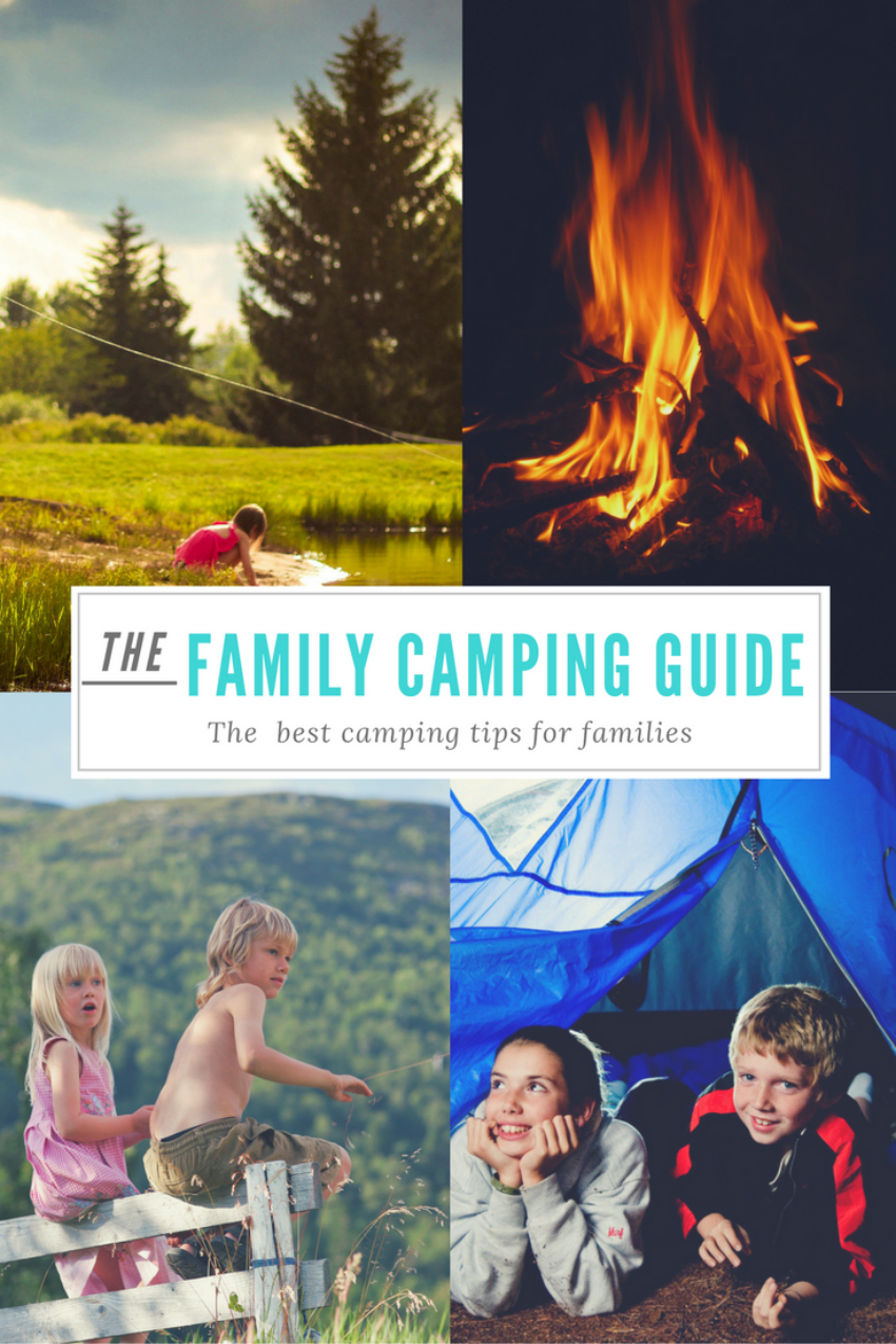 top tips for camping with kids, camping with kids, taking kids camping, family camping trip 2
