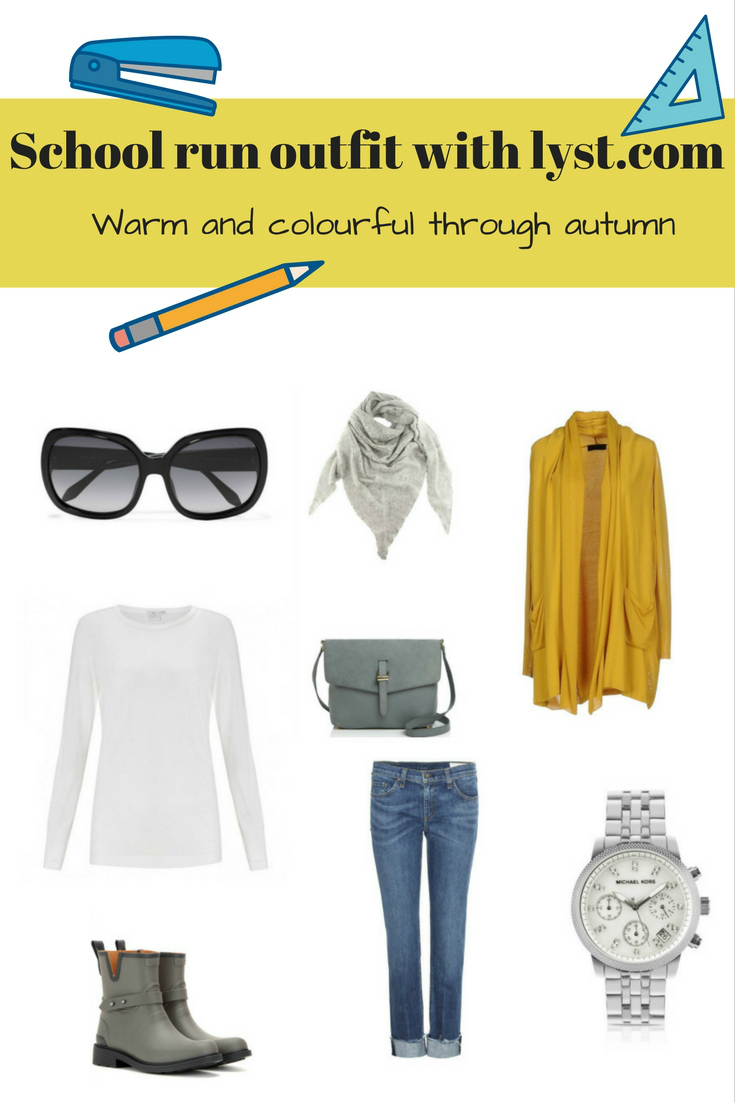 school run outfit with lyst.com