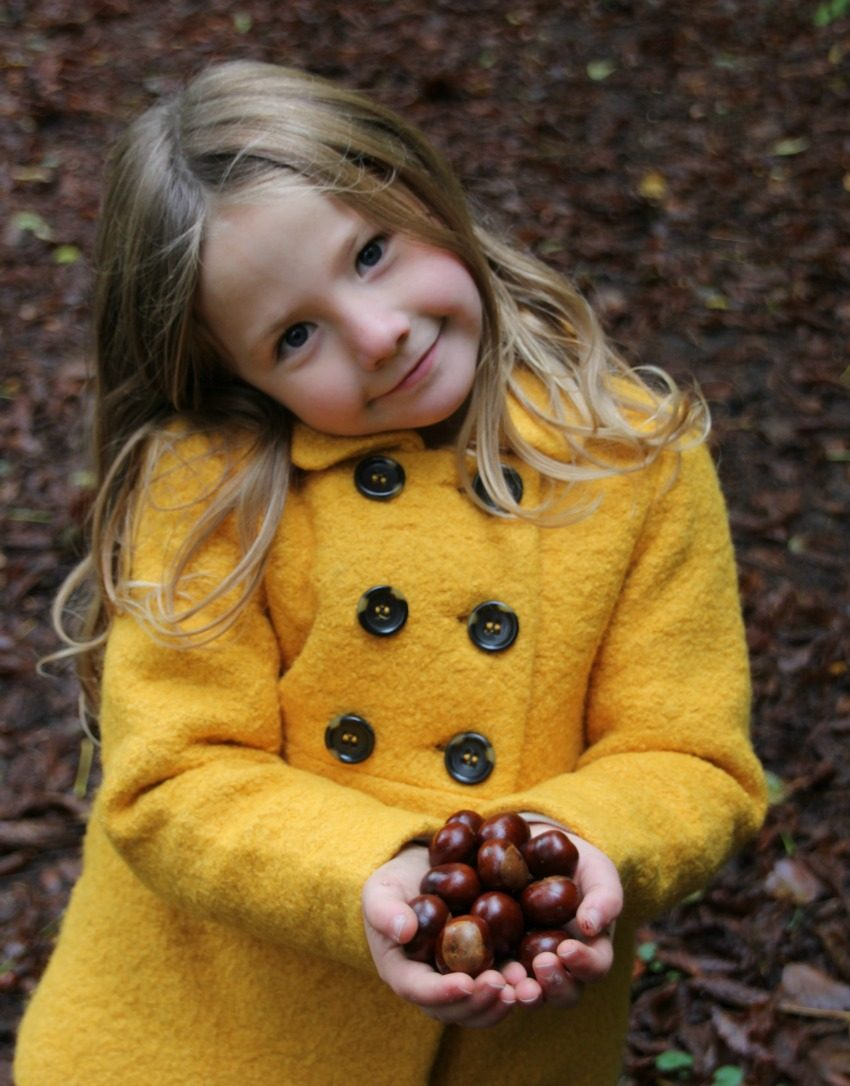 getting kids active by combining crafts with outdoor activities