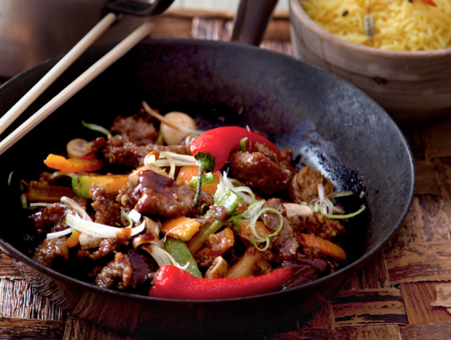 takeaway recipes Thai Stir-Fried Beef with Oyster Sauce