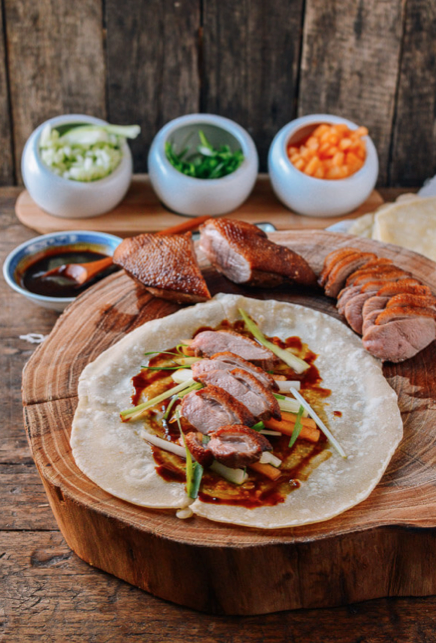 Takeaway recipes Peking Duck with Mandarin Pancakes