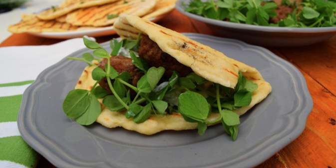 takeaway recipes Lamb Kofta With Flatbreads