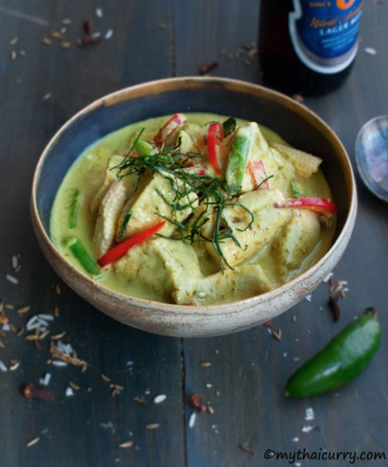 takeaway recipes Thai Green Chicken Curry