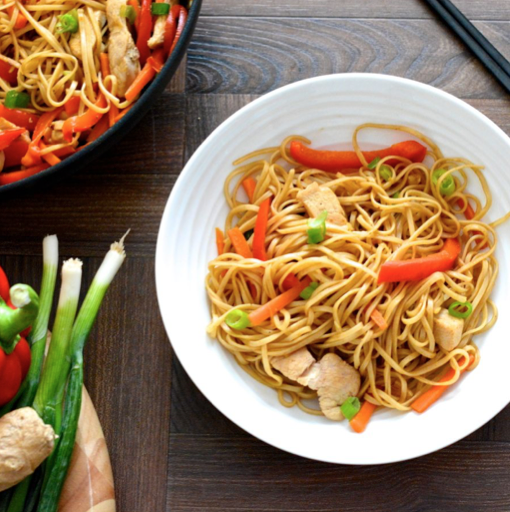 Takeaway recipe chicken chow mein
