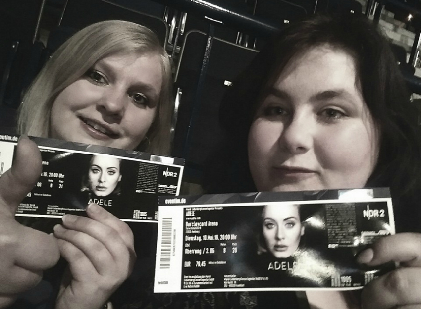 2016 highlights seeing adele live in hamburg