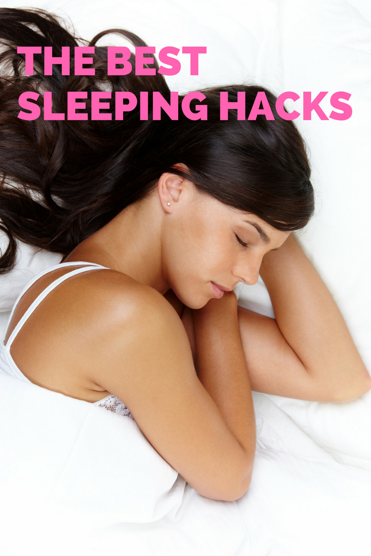 the best sleep hacks, sleeping hacks for tired parents, how to get a good night's sleep