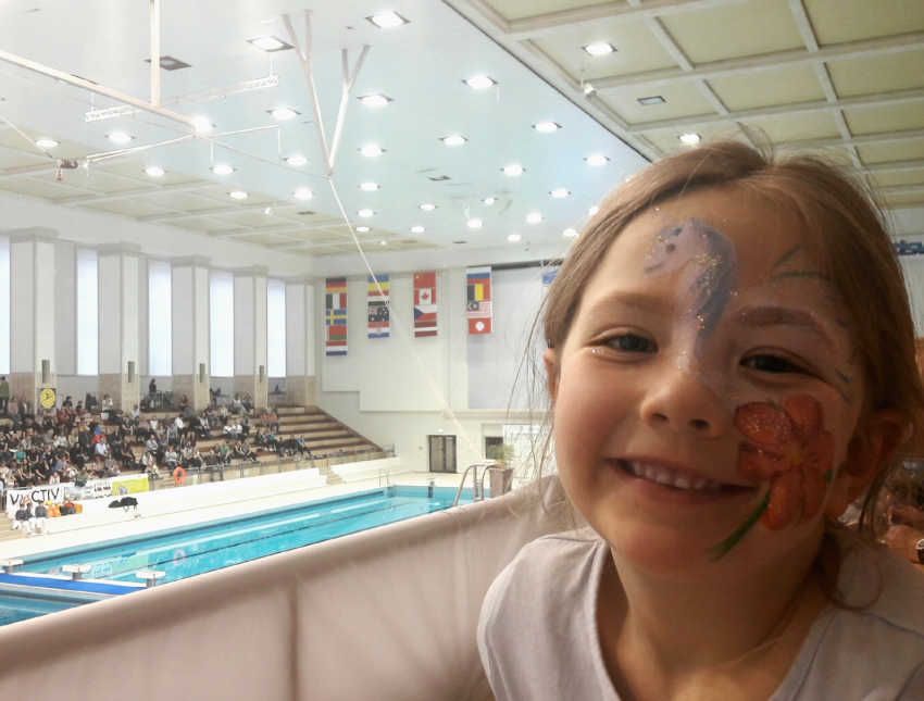 Living Arrows Amy at 23rd FINA Diving Grand Prix in Rostock