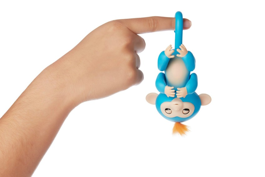 Fingerlings Monkey toys blue