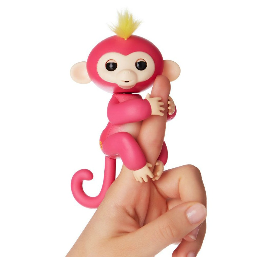 Fingerlings Monkey toys pink