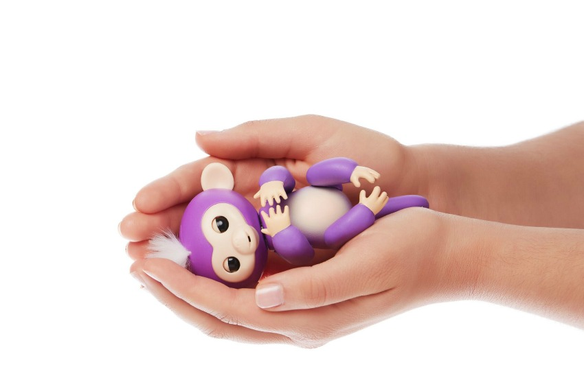 Fingerlings Monkey toys purple