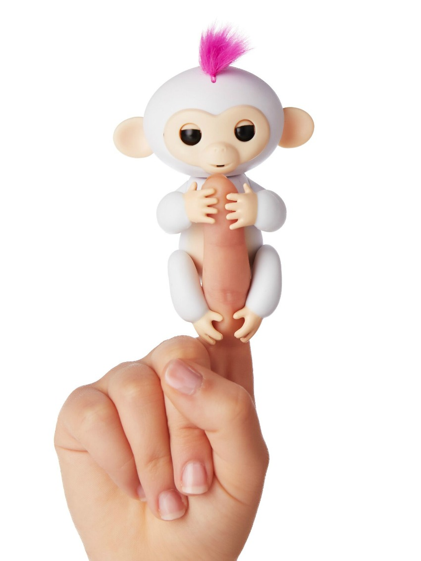 Fingerlings Monkey toys white