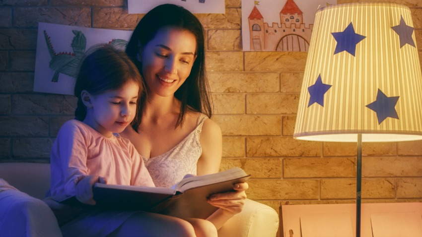 bedtime story, reading with children, reading with kids