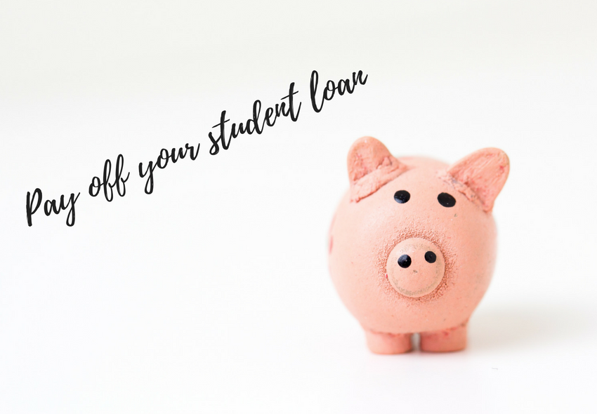 how to pay off your student loan, student debt