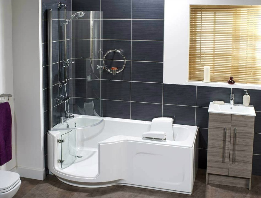 walk-in baths for the elderly or disabled