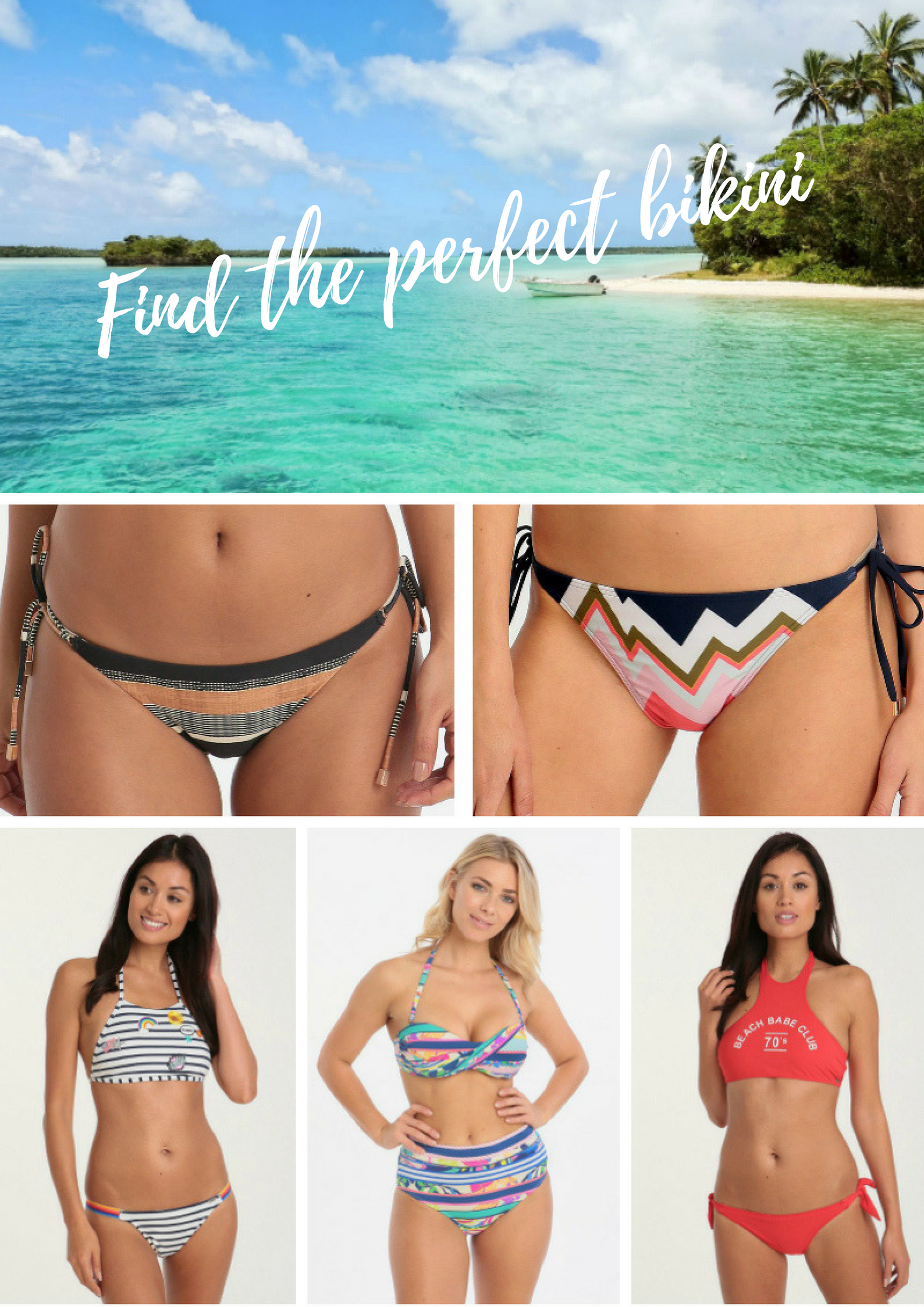 find the perfect bikini for every body shape and budget