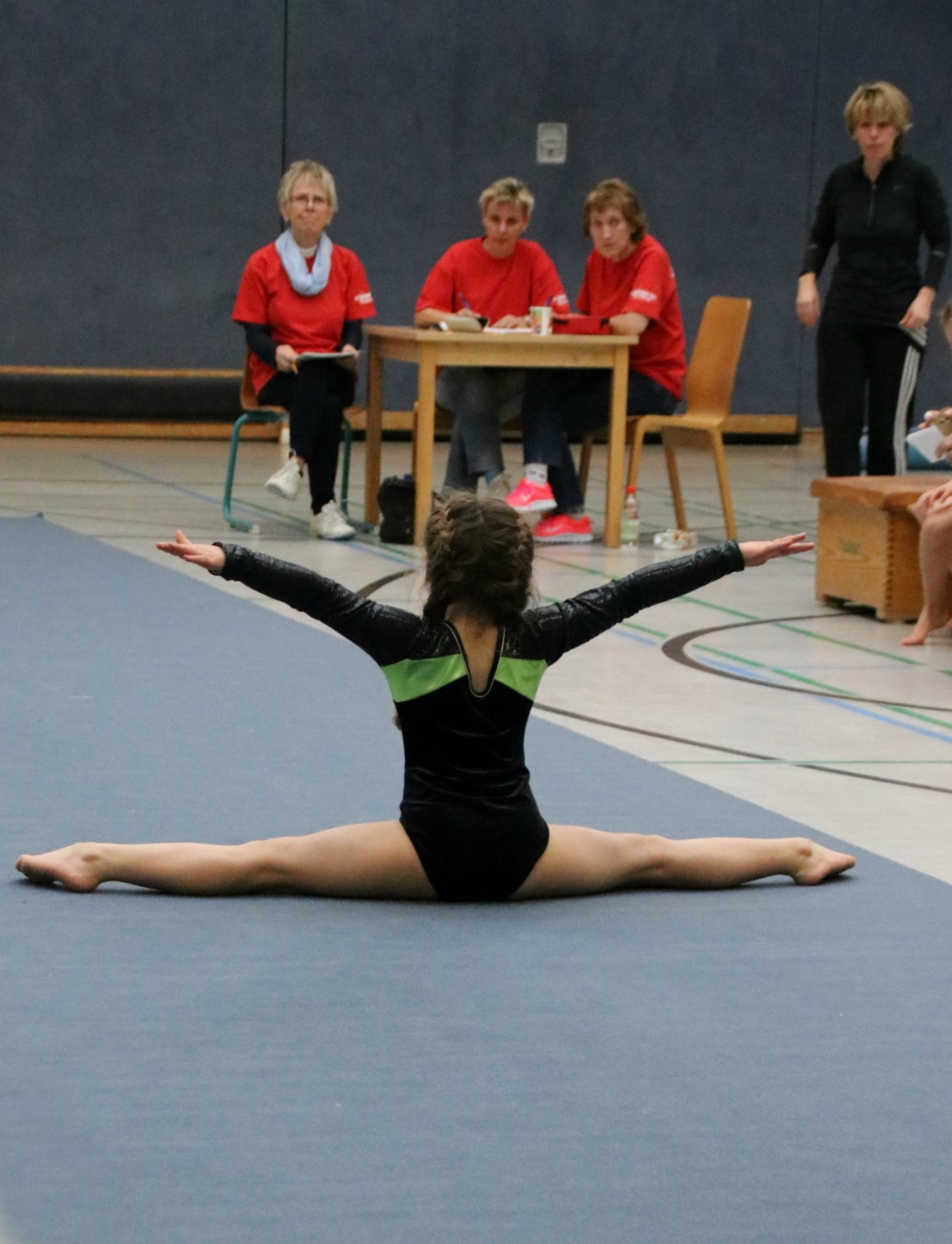 Amy's first gymnastics competition 3