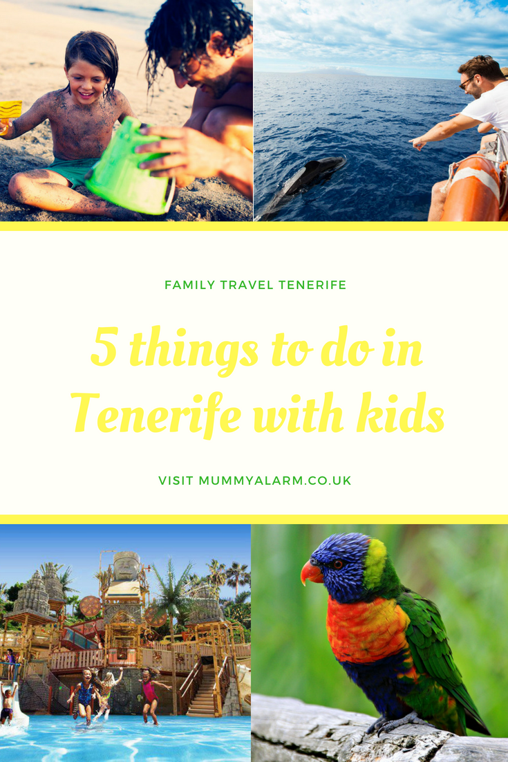 5 things to do in Tenerife with kids - tips and tricks for your family holiday to Tenerife