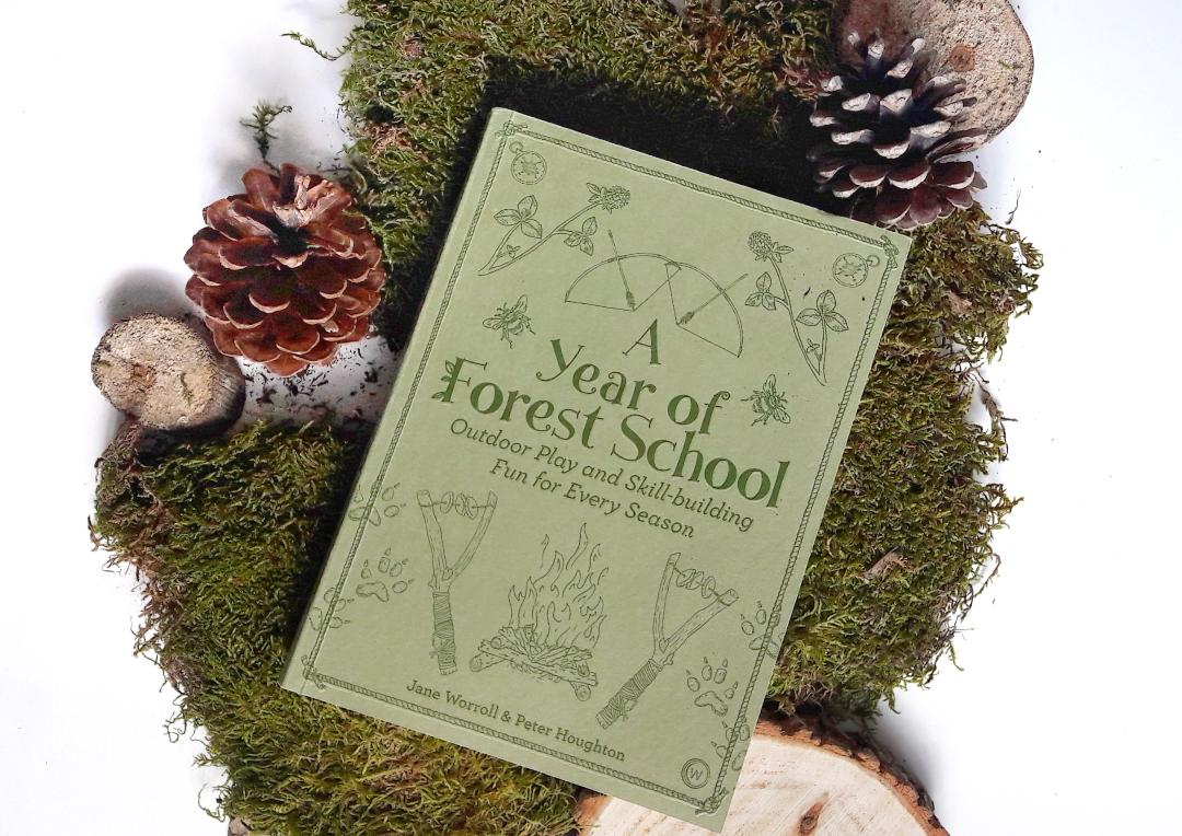 a year of forest school - forest school activities, survival skills and foraging with kids - book review