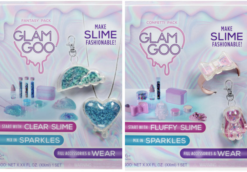 glam goo accessories kit - confetti kit - fantasy kit