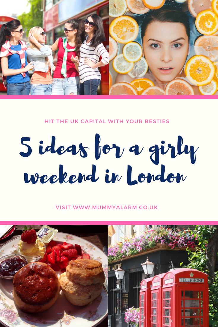 5 ideas for a girly weekend in London - hitting the capital with your besties (3)