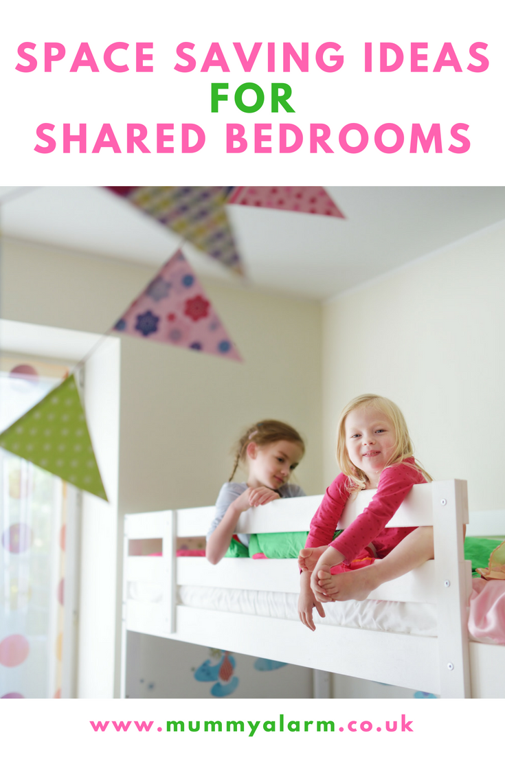 space saving ideas for shared bedooms, maximise space in your kids shared bedroom