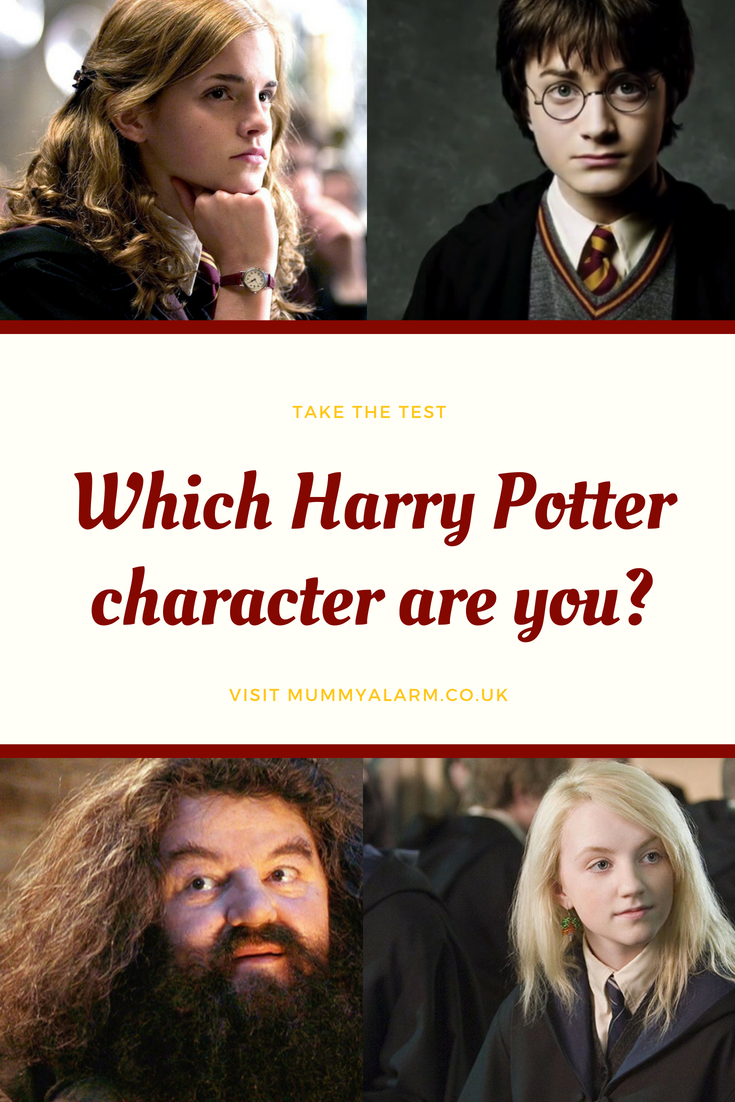 which harry potter character are you - harry potter quiz, harry potter test