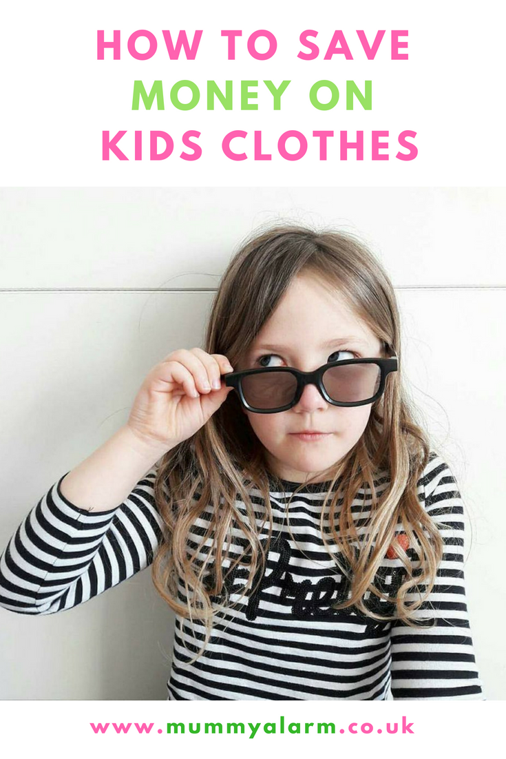 How to save money on kids clothes - dress your kids well for less