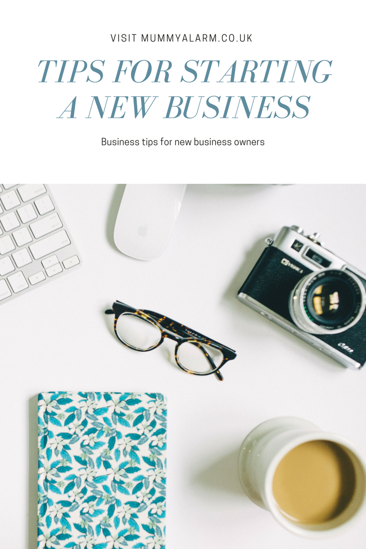 Starting a new business - Top tips for new business owners