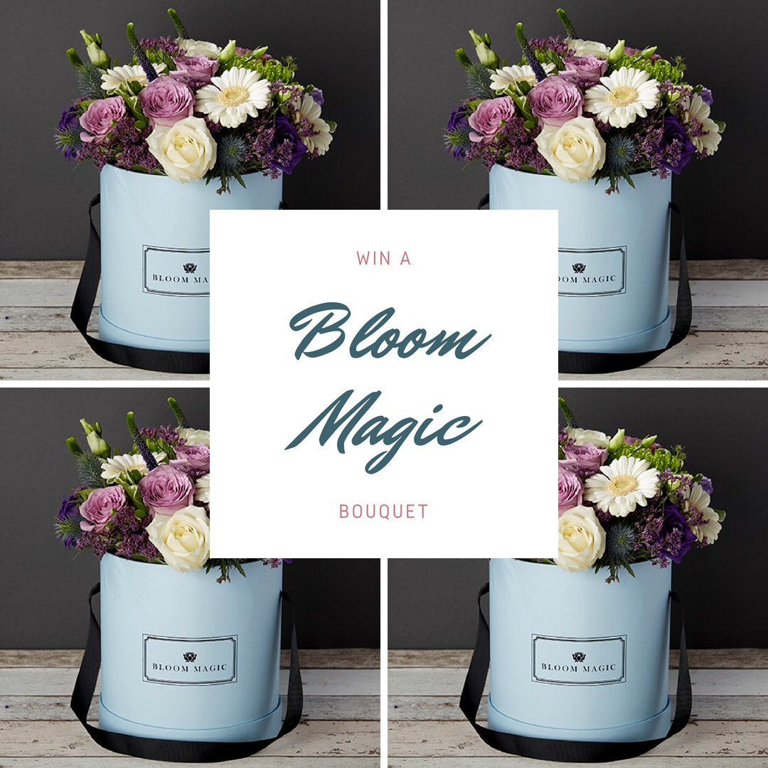 Win a luxury bouquet of flowers from bloom magic flowers