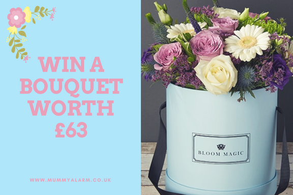 win a bloom magic bouquet worth £63