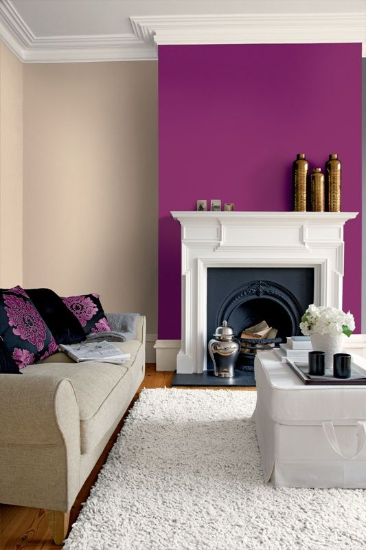 add a splash of colour to your home, feature wall, accent pieces