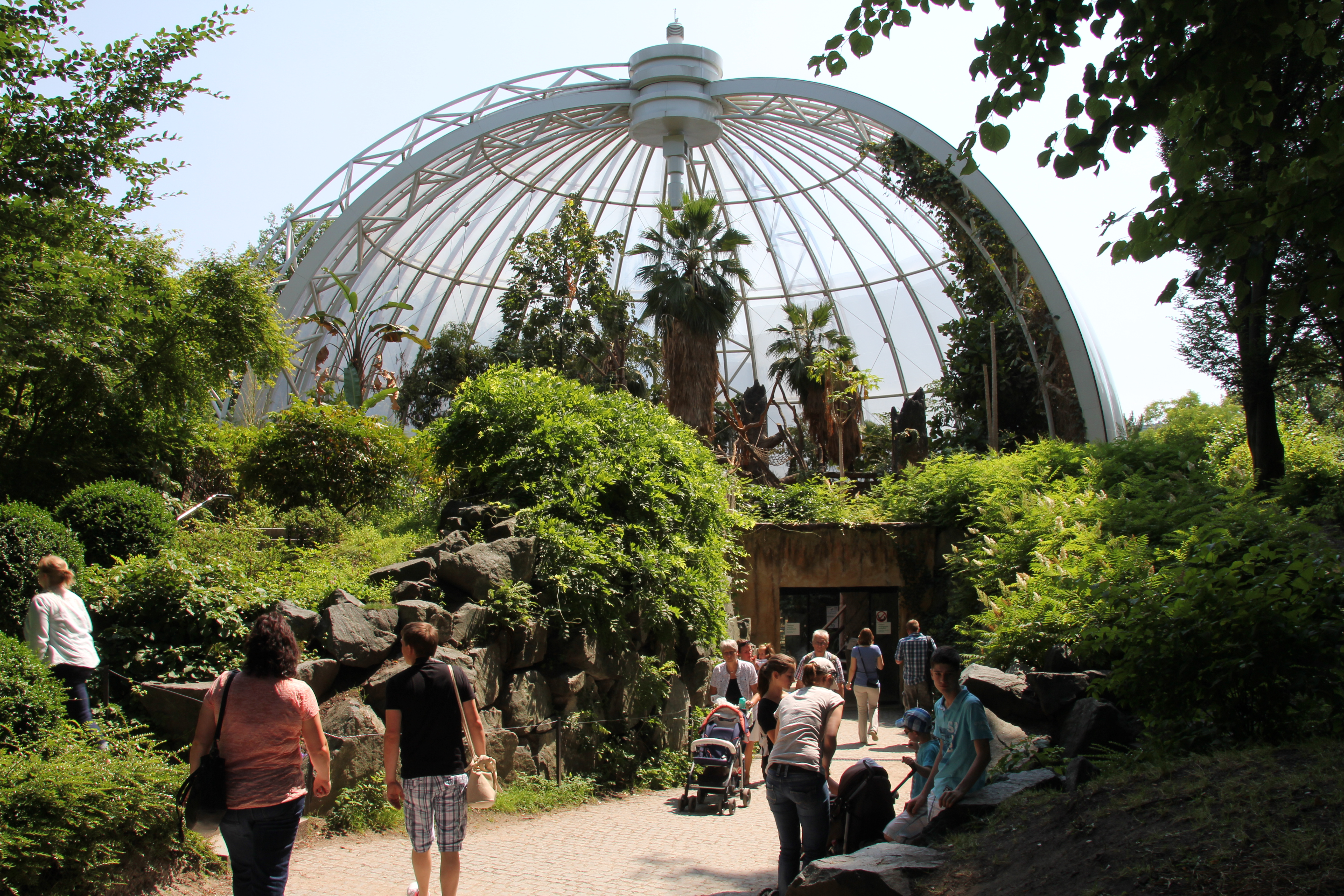 things to do in Hamburg with kids - hamburg zoo tierpark hagenbeck - bad weather