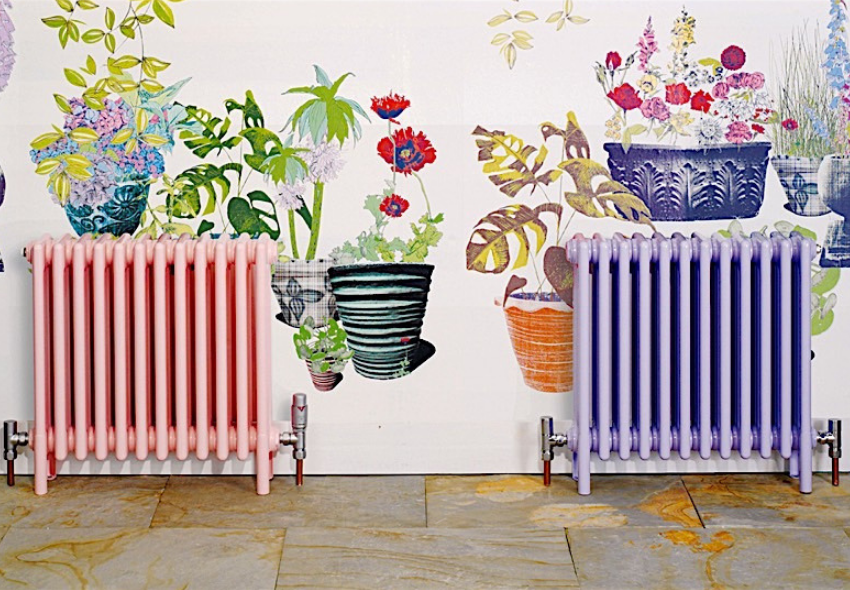 designer radiators and ways to spruce up your radiators - radiator covers, magnets and painting your radiator (2)