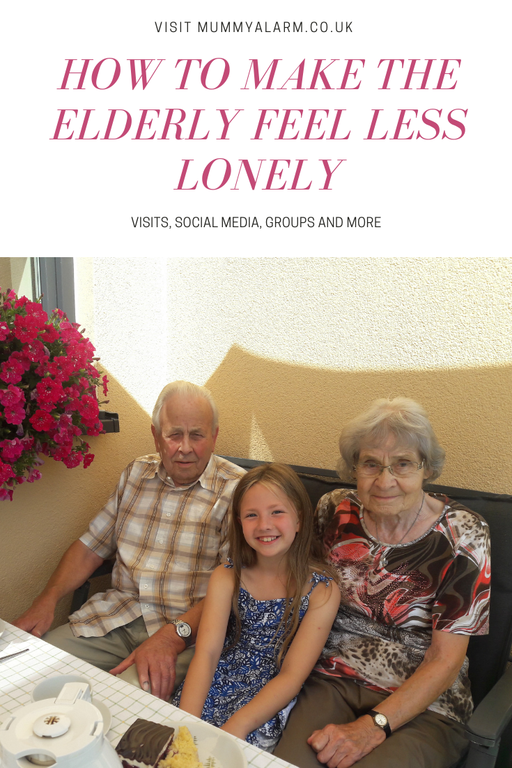 make elderly feel less lonely